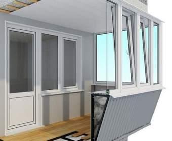 Остекление с выносом для балконов в Киеве – виды, особенности и преимущества