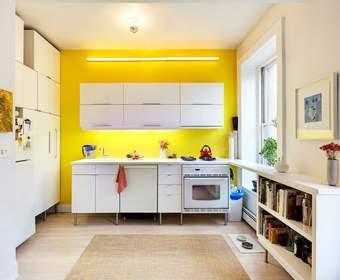 Как расширить маленькую кухню?