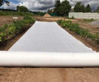 Применение геотекстиля в строительстве и ландшафтном дизайне