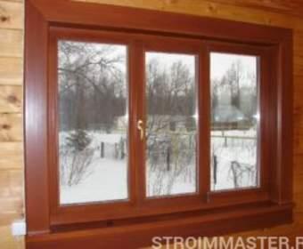 Деревянные окна – лучшее оформление дома