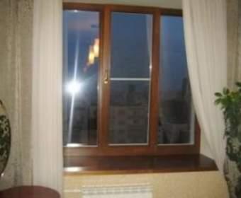 Декор деревянного окна «под евро»