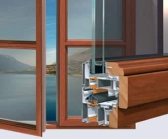Характеристики комбинированных окон