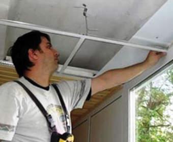 Навесной потолок из ПВХ: разметка, каркас, установка панелей