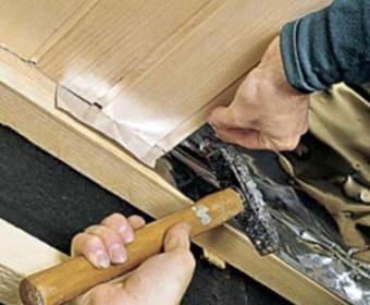 Отделка потолка вагонкой: деревянной и пластиковой