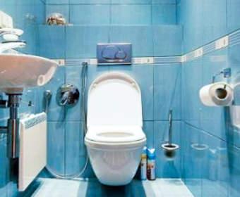 Ремонт туалета: этапы, дизайн, материалы, порядок и специфика работ