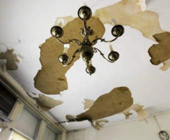 Комплексный ремонт потолка: с чего начать, процесс, работы после залива