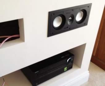 Встроенная акустика для жилых комнат, кухни, ванной — как выбрать и сделать своими руками