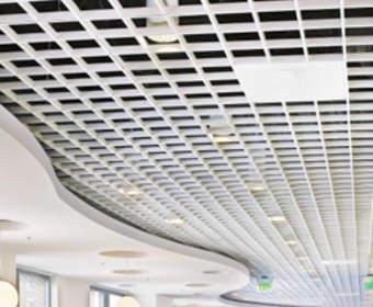 Потолки грильято: схема и устройство,установка, компоненты, стоимость