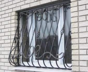 Решетки на окна: виды, выбор, заказ, изготовление, что можно самому