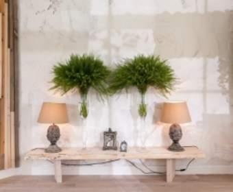 Сочетание мрамора и зеркал в интерьере