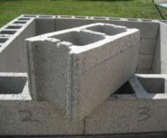 Применение бетонных блоков в строительстве
