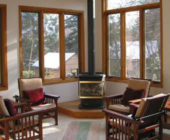 Преимущества деревянных окон из дуба