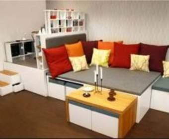 Эргономичная мебель для небольших помещений