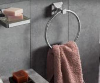 Кольцевые или рожковые полотенцедержатели