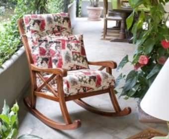Кресла качалки – уют и комфорт в одном предмете