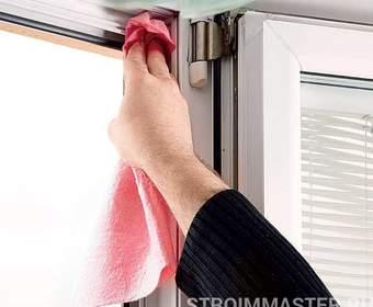 Правильный уход за окнами из ПВХ
