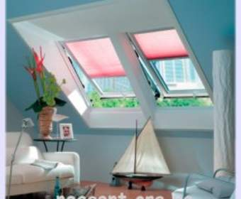 Мансардные окна в крыше