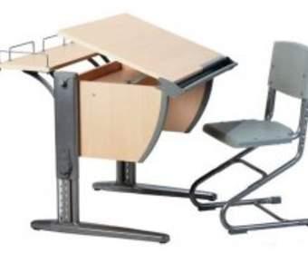 Виды детской мебели: парты, столы, стулья