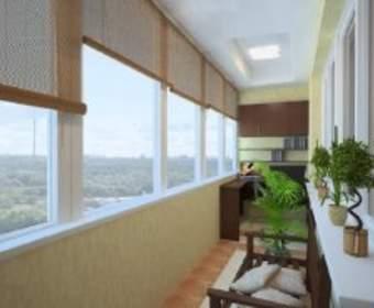 Пластиковые окна - популярный вид остекления помещений