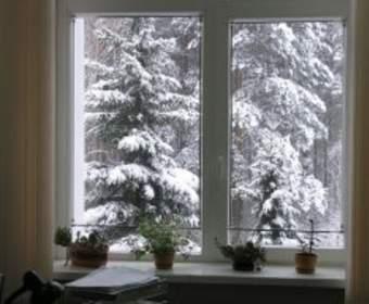 Пластиковые окна — надежная защита от зимних холодов