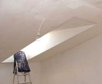 Готовим поверхность потолка к окраске: порядок работ