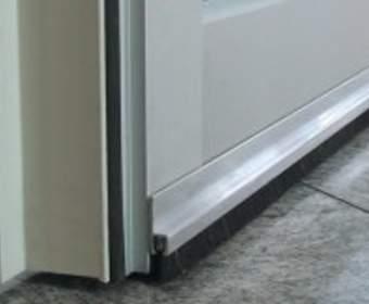 Щёточные уплотнители для дверей