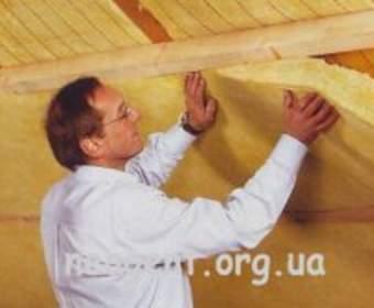 Кровельные работы - теплоизоляция крыши