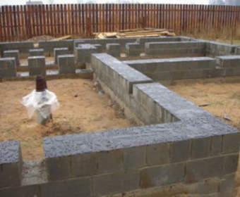 Типы фундаментов для частного дома