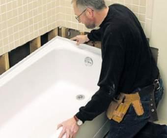 Самостоятельный монтаж и подключение ванны — работа для умелого мастера