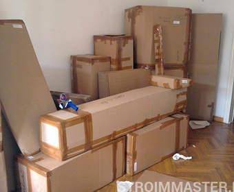 Упаковка и перевозка мебели