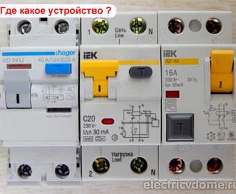 Узо электронное или электромеханическое - что выбрать