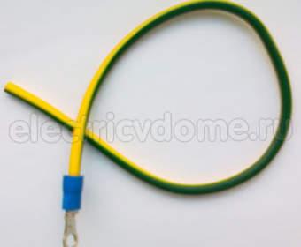 В какой цвет окрашиваются провода заземления