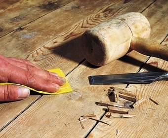 Замена старого деревянного пола