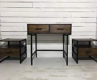 Мебель в стиле лофт в современном интерьере