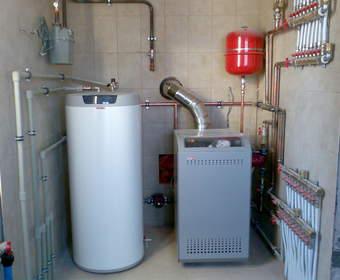 Отопление природным и сжиженным газом