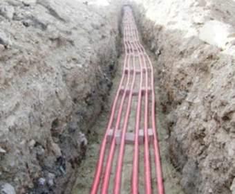 Прокладка электрического кабеля в земле: условия и порядок выполнения работ