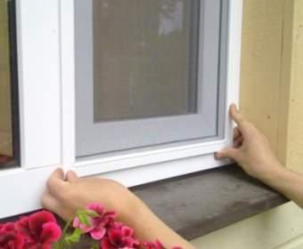 Москитная сетка на окно — установка и изготовление своими руками: разные виды и случаи