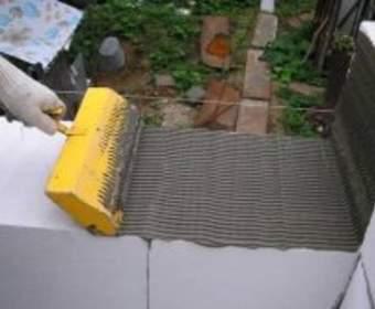 Клей для газобетона - смесь для строительства дома из блоков