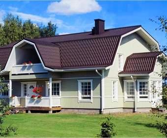 Сооружение крыши ломаного типа своими руками