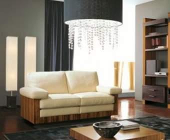 Выбор современной люстры для зала: варианты разных стилей