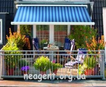 Маркизы для Вашего дома, балкона, патио