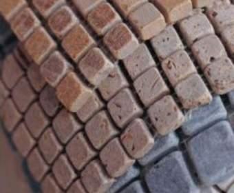 Мозаика под натуральный камень для пола и стен