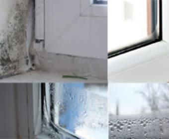 Пластиковые окна запотевают: предотвращаем причины