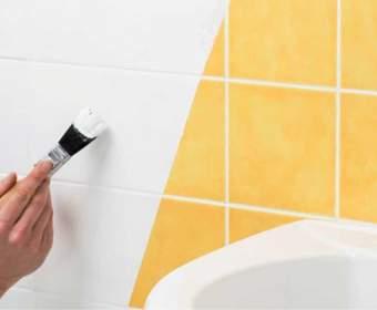 Как покрасить кафельную плитку в ванной: правила выбора краски и пошаговая инструкция