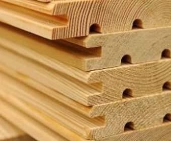 Использование шпунта из древесины сибирской лиственницы