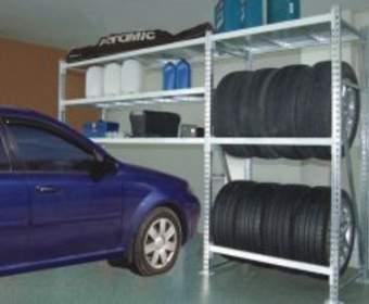 Стеллажи для вашего гаража